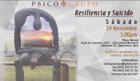 """Plática informativa sobre """"Resiliencia y Suicidio"""""""